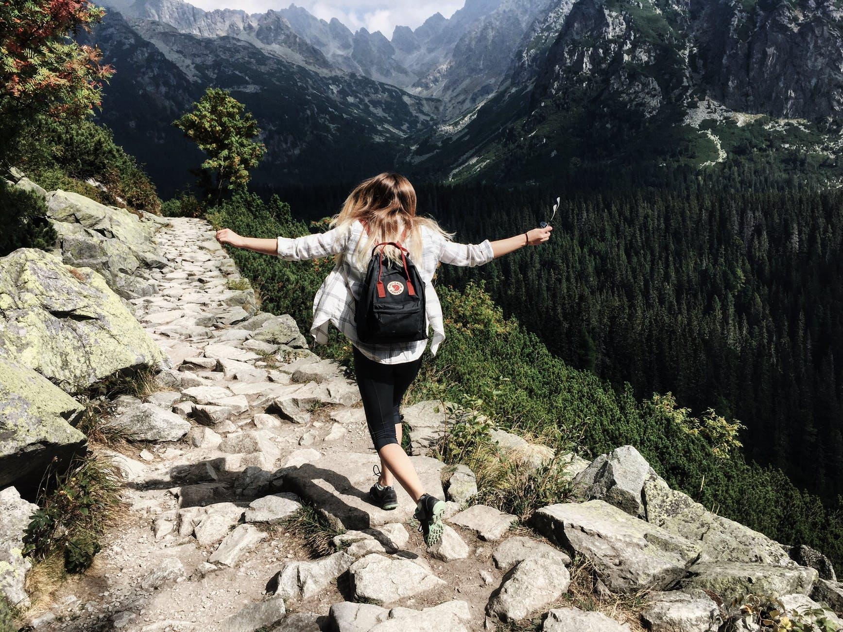 adult adventure beautiful climb